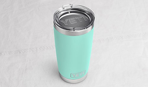 YETI Rambler 20 oz Stainless Steel Vacuum Insulated Tumbler with Lid, Seafoam