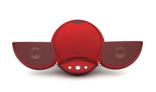 Vestalife Ladybug Portable Speaker Dock for iPod (Red)