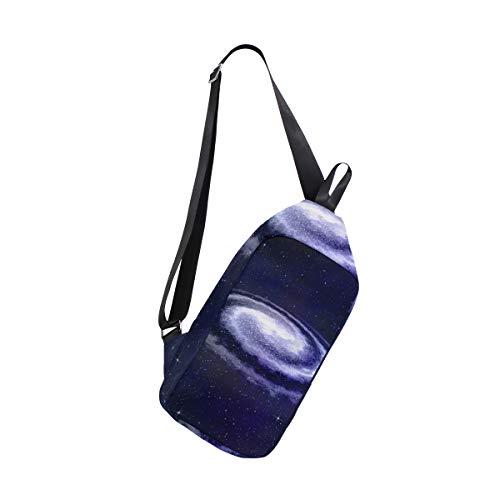 amp; One Space Women For Galaxy Backpack Crossbody Chest Sling Men Shoulder Bag Bags Bennigiry CRg7wxwq