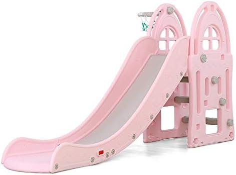 ATAA Tobogán XL - Rosa -tobogán Infantil para Jardin Parques e Interiores - Columpio y Juguete para jardín Ideal para niños y niñas