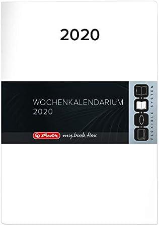 herlitz 50029860 Ersatzkalendarium 2021 f/ür Timer Flex A6 1 St/ück
