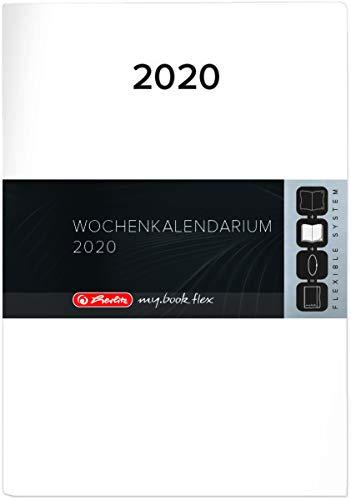 Herlitz Ersatzkalendarium f/ür Timer A6 Flex 2020 1 St/ück