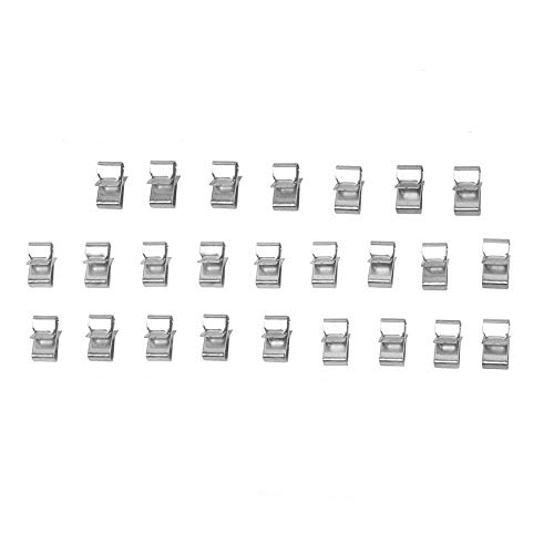 Great Features Of Lonwin 25PCS Trailer Frame Wire Clips Replacement Parts Accessories Ski Boat Fishi...