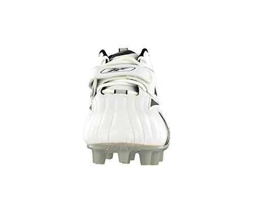 Scarpe Da Calcio Reebok Pro Full Blitz Mp Mens Misura 13, Larghezza Normale, Colore Nero / Bianco / Argento
