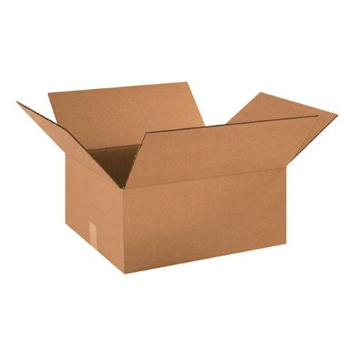 "Aviditi 18168 Corrugated Box, 18"" Length x 16"" Width x 8"" He"