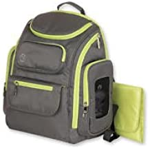 Jeep Places & Spaces Backpack Diaper Bag - Green & Gray