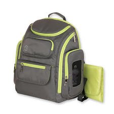 Jeep Diaper Bag (Jeep Places & Spaces Backpack Diaper Bag - Green & Gray)