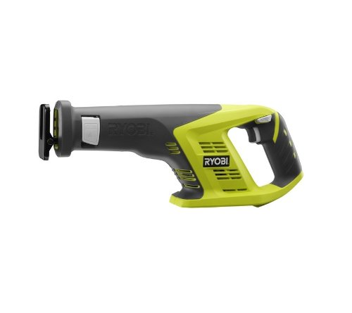 Ryobi P515 One+ 18V 7/8 Inch Stroke Length 3,100 RPM Lithium Ion Cordless Reciprocating Saw with Anti-Vibration Handle (Batteries Not Included, Power Tool Only) by Ryobi
