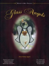 GLASS ANGELS Stained Glass Pattern Book - Stained Glass Angel Pattern