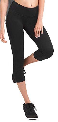 Gap Fit Womens gFast Blackout Capri Leggings Medium 8 10