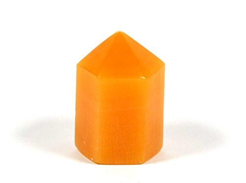 American Brilliant Crystal - Brilliant Orange Crystal Stone Point, 3