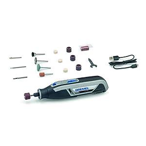 Dremel Lite 7760 Cordless Rotary Tool Li-Ion 3.6 V, Multi Tool Kit with 15 Accessories, Variable Speed 8,000 – 25,000…