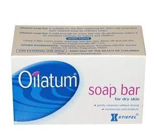 Pack of 6 Oilatum Bar Soap 100 G. Low Price Free Shopping