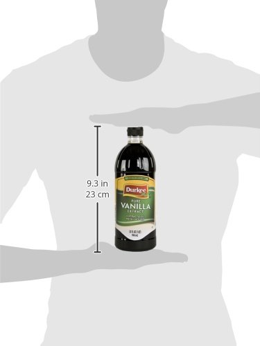 Durkee Pure Vanilla Extract, 32-Ounce by Durkee