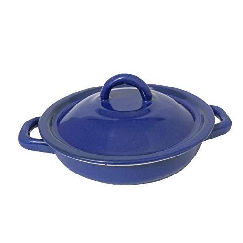 Enamel Tortilla Warmer // Tortilla Server (Blue)