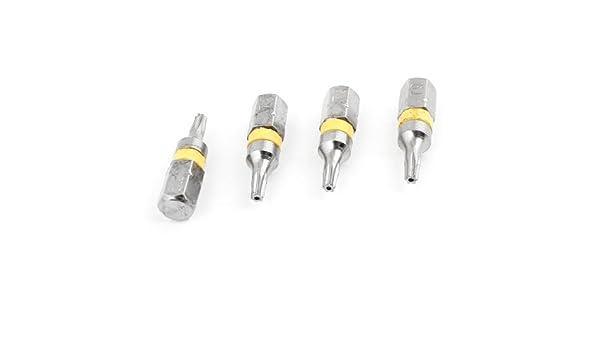 4 PC 2.2mm magnético Torx T9 cabeza del tornillo de la herramienta ...