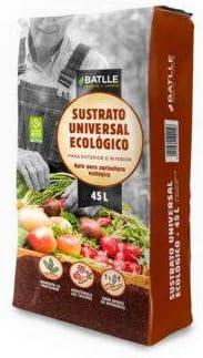 Sustrato universal ecológico Batlle 45 L: Amazon.es: Jardín