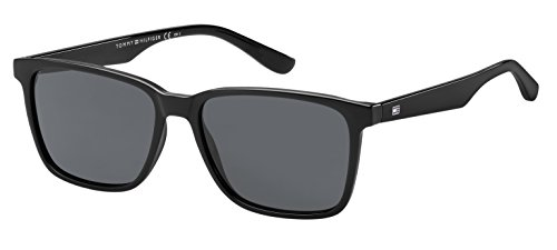 S 1486 Tommy Hilfiger Black Sonnenbrille TH wqpPpx6T