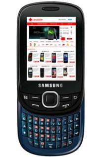 Unlocked GSM Slider Phone with QWERTY Keyboard, 1.3MP Camera, Video, A-GPS, Bluetooth, SNS Integration, MP3/MP4 Player and microSD Slot - Black/Blue ()