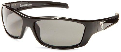 Typhoon Schooner Polarized Sunglasses,Matte Black,63 - Eyewear Typhoon