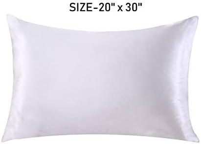 Amazon.com: Funda de almohada de seda para cabello y piel ...