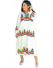 فستان كاجوال من تاليا فستان كسرات للنساء