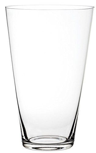 Royal Imports Flower Glass Vase Decorative Centerpiece for Home or Wedding Tall Round Tapered Shape (fits 2-Dozen Roses), 12