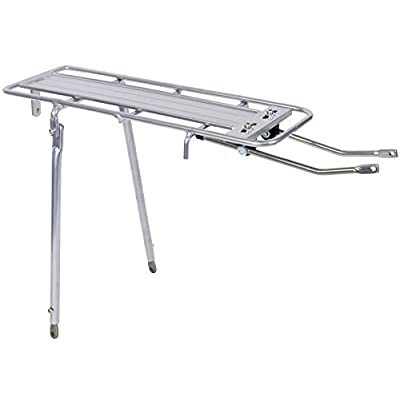 "SUNLITE Gold Tech Adjustable Rear Rack, 26""/700c, Silver : Bike Racks : Sports & Outdoors"