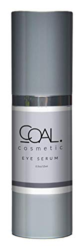 Coal Cosmetic Eye Serum-Premium Under Eye Treatment-Diminishes Dark,Puffy Under Eyes and Fills Fine Lines and Wrinkles