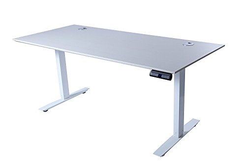 ApexDesk Flex Pro Series 66″ Standing Desk Base & Top with Bluetooth Function (Memory Controller, White Base + White Top) Review