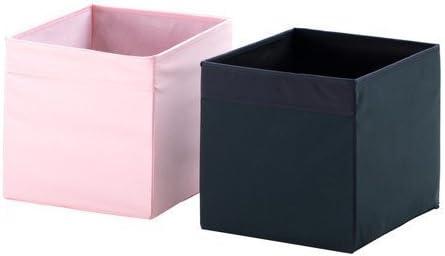 Ikea Drona Caja de almacenaje en Color Negro: Amazon.es: Hogar