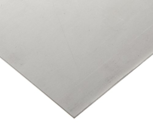 HX Nickel Sheet, Unpolished (Mill) Finish, ASTM B435, 0.030'' Thickness, 12'' Width, 12'' Length by Small Parts