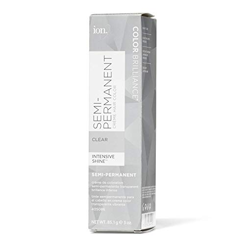 Ion Clear Semi Permanent Hair Color Clear