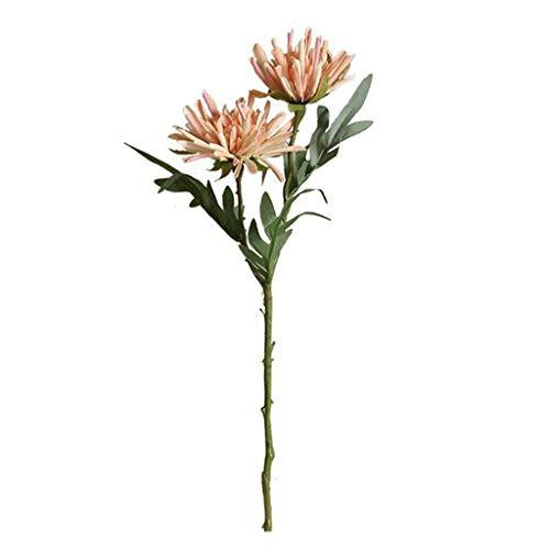 Ktyssp Dragon Claw Flower Simulation Flower Home Decoration Wedding Bouquet (Rose Gold)