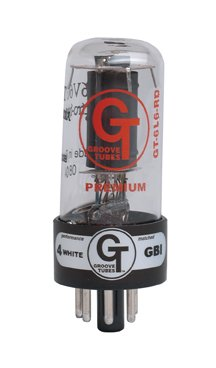 (Groove Tube GT-6L6-R Russian Amp Vacuum Tubes - (Duet (2 tubes)))
