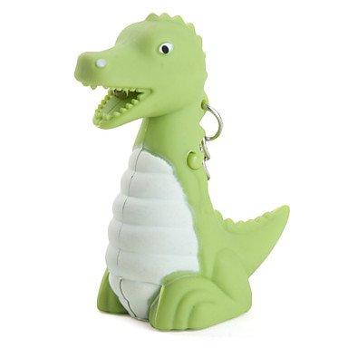 LIN@G dinosaurio llavero con linterna dirigida y efectos de ...