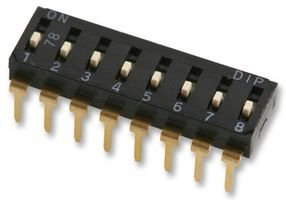 DIL 8WAY MCEI-08 By MULTICOMP LOW SWITCH