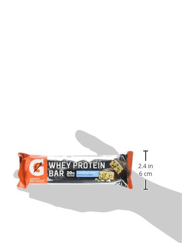 Gatorade Recover Whey Protein Bar Cookies And Creme, 2.8 Ounce by Gatorade (Image #4)