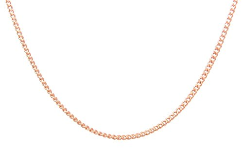 Copper Chain CN634G - 1/8 of an inch wide - Available in 16 to 30 inch lengths. $24 to $32 - Choose your length below (24 inch length) ()