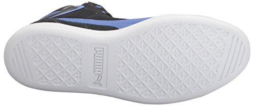 Puma Womens Vikky Mid Fashion Sneaker Asphalt-baja Blue