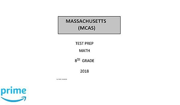 8th Grade MCAS Test Prep 8th Grade