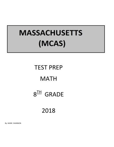 8th Grade MCAS Test Prep: 8th Grade Massachusetts Comprehensive Assessment System Test Test Prep Study Guide by CreateSpace Independent Publishing Platform (Image #1)