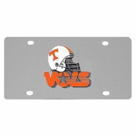 NCAA Tennessee Volunteers Steel Helmet License Plate by Siskiyou