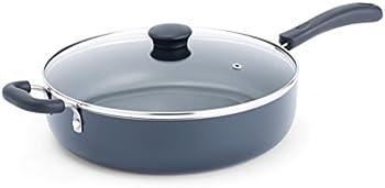 T-fal A91082 Nonstick 5-Quart Jumbo Cookware Pan