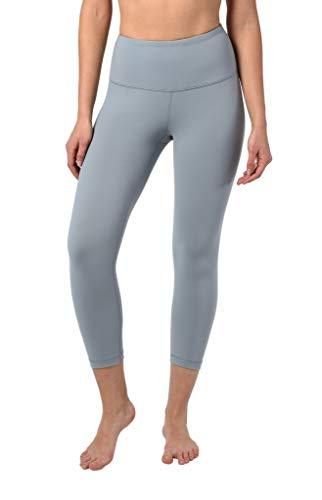 90 Degree By Reflex - High Waist Tummy Control Shapewear - Power Flex Capri - Skylight - Medium