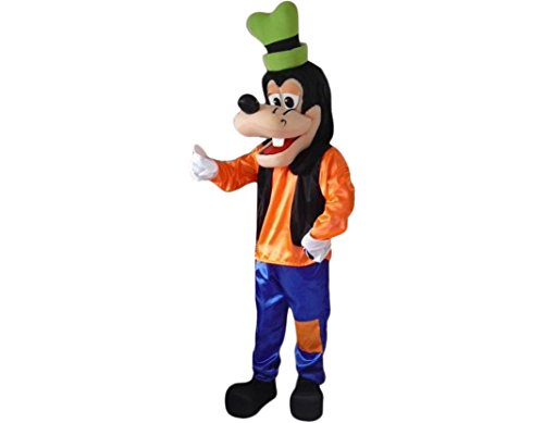 Goofy Adult Costumes (Happy Family Mascot Costumes for Adults Christmas Halloween Outfit Fancy Dress Suit Goofy Dog (Large: (175-180)))