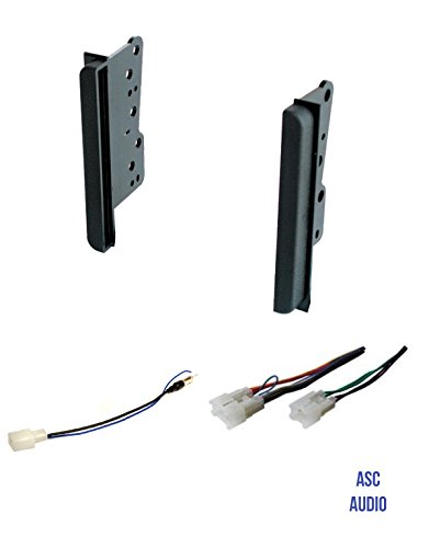 - Premium Car Stereo Dash Install Kit, Wire Harness, Antenna Adapter to Install a Double Din Aftermarket Radio for Select Scion, Toyota, Subaru Vehicles- See Compatible Vehicles and Restrictions Below