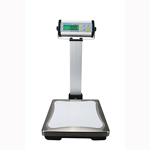 Adam Equipment CPWplus 75P Pillar Display Bench Scale, 165lb/75kg Capacity, 0.05lb/20g Readability by Adam Equipment