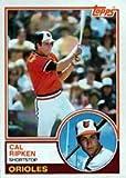 1983 Topps Regular (Baseball) Card# 163 Cal Ripken Jr. of the Baltimore Orioles NrMt Condition
