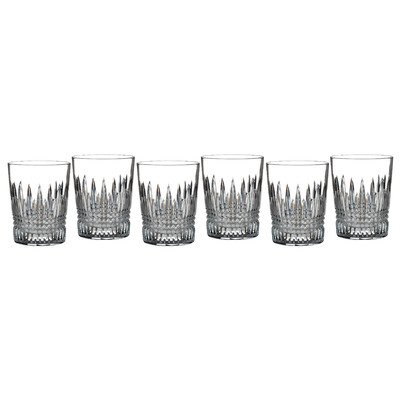 Lismore Diamond Double Old Fashioned Glass (Set of 6) by Waterford